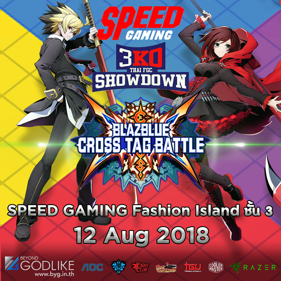 [BYG]3KO by SpeedGaming x Razer : Blazblue cross tag Battle