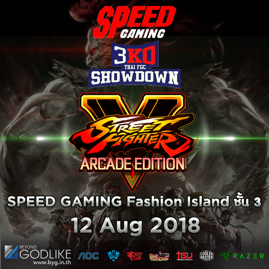 [BYG]3KO by SpeedGaming x Razer : Street Fighter 5 Arcade Edition
