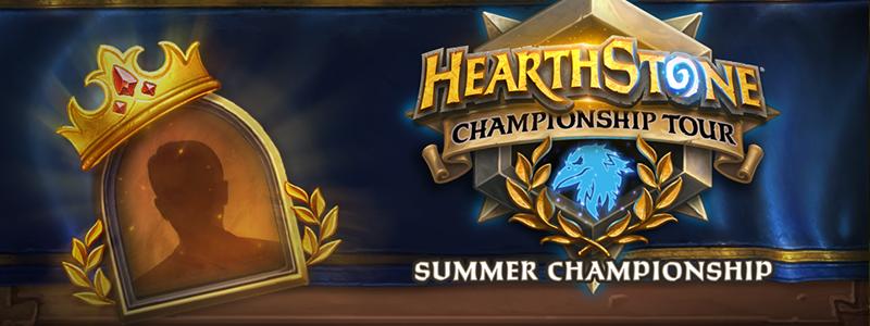 กิจกรรมเลือกแชมเปี้ยนในการแข่งขันชิงแชมป์ Hearthstone ประจำฤดูร้อน