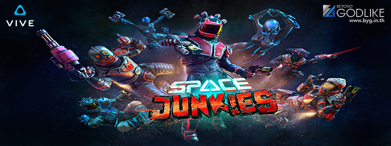 Space junkies เกม VR Shooter เตรียมเปิด close Beta แล้ว ปลายเดือนนี้