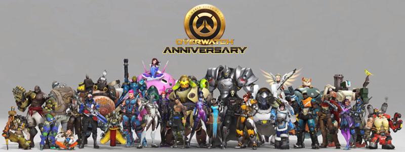 Overwatch Anniversary 2019 ฉลองครบรอบ 3 ปี เกม Overwatch !!!