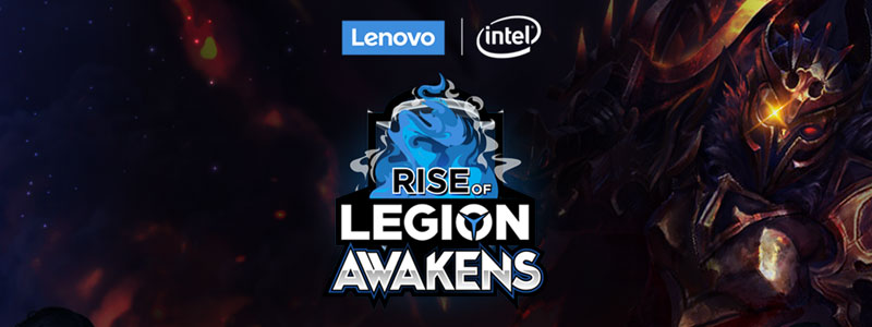 Rise of Legion : Awakens Dota2 ศึกอีสปอร์ตรอบพิเศษไทยvsพม่า