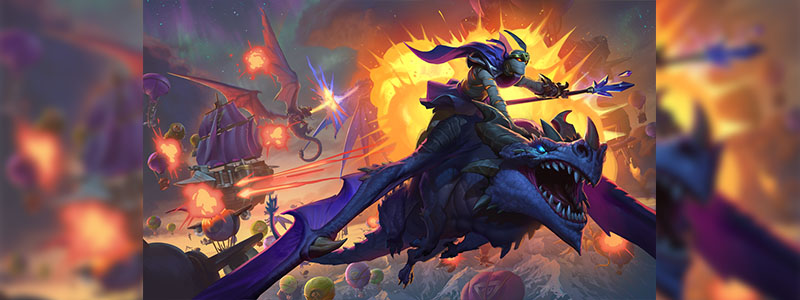 Descent of Dragons™ ส่วนเสริมใหม่ของ Hearthstone™