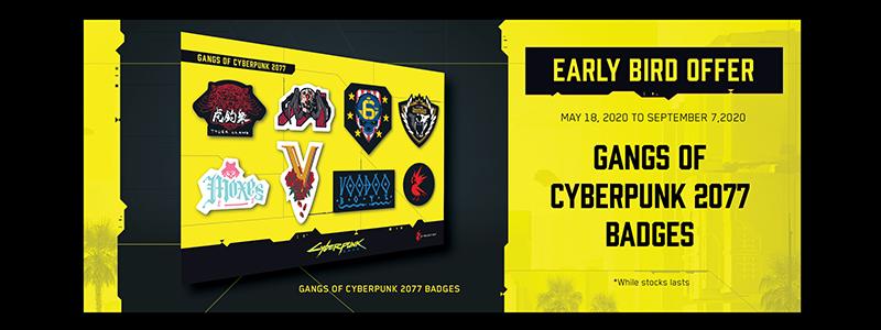 Epicsoft Asia จัดโปรโมชั่นสุดพิเศษ Early Bird Offer แก่ผู้สั่งซื้อเกม Cyberpunk 2077® Standard และ Collector's Edition