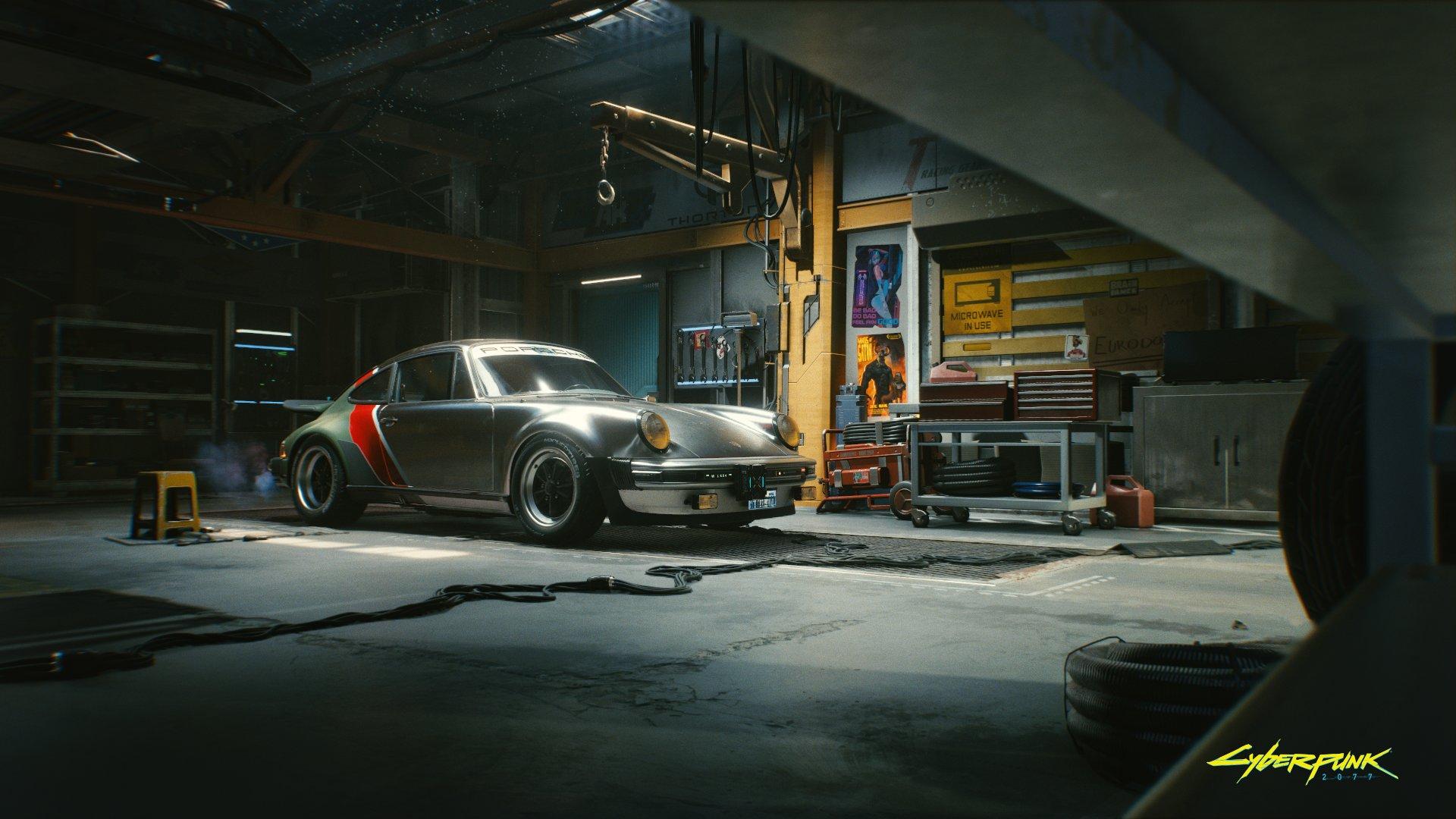 Porsche เร่งเครื่องสู่อนาคตอันมืดมนแห่ง Cyberpunk 2077