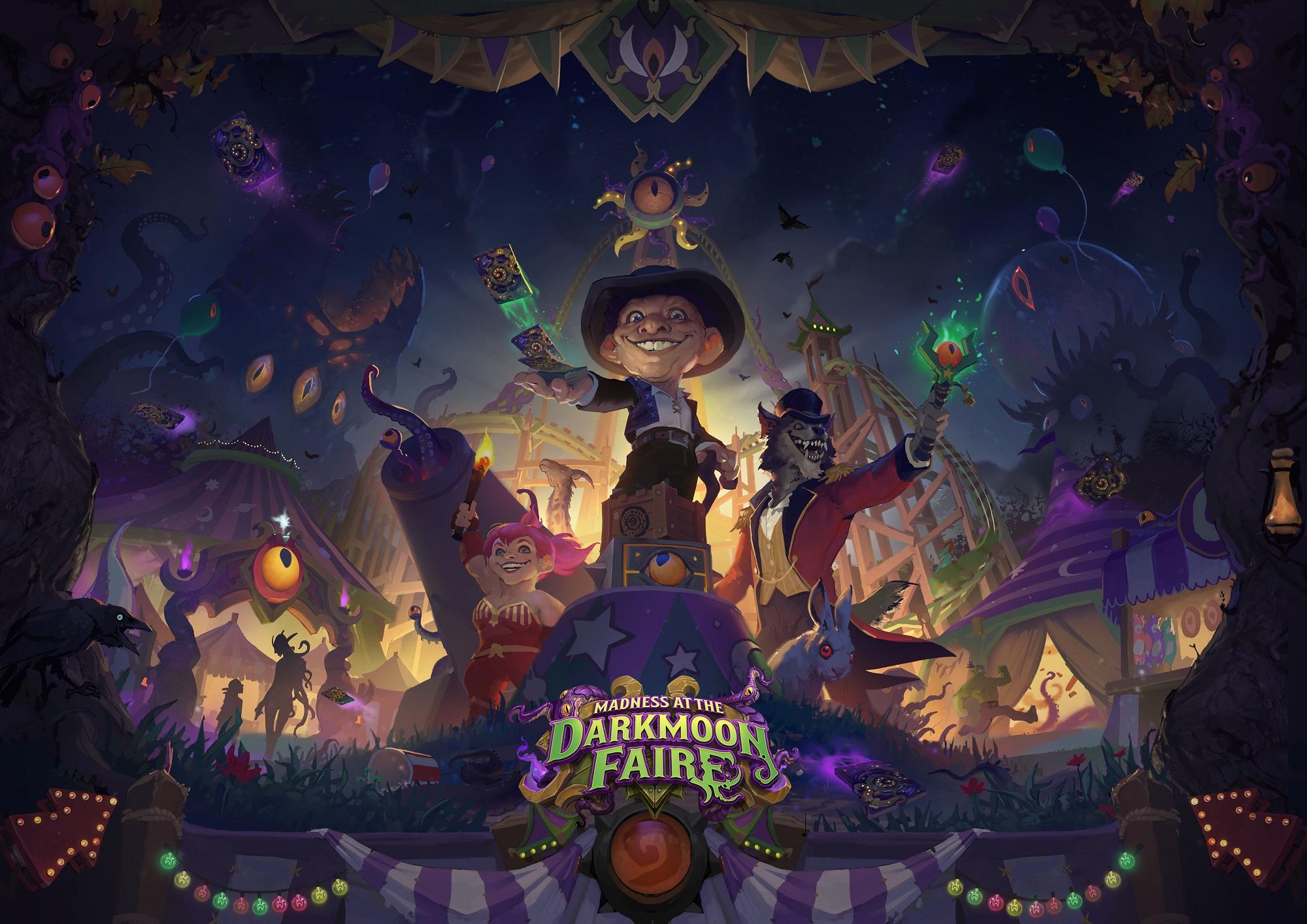 เทพโบราณกลับมาสู่ Hearthstone™ ใน Madness at the Darkmoon Faire™ เปิดให้เล่นในวันที่ 18 พฤศจิกายน (ตามเวลาประเทศไทย)
