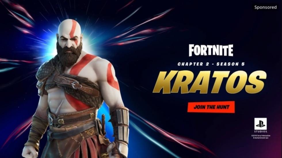 เตรียมพบกับพี่โล้นสุดแกร่ง Kratos จากเกม God of War ที่จะมาในรูปแบบสกินสุดเท่ในเกม Fortnite เร็วๆนี้