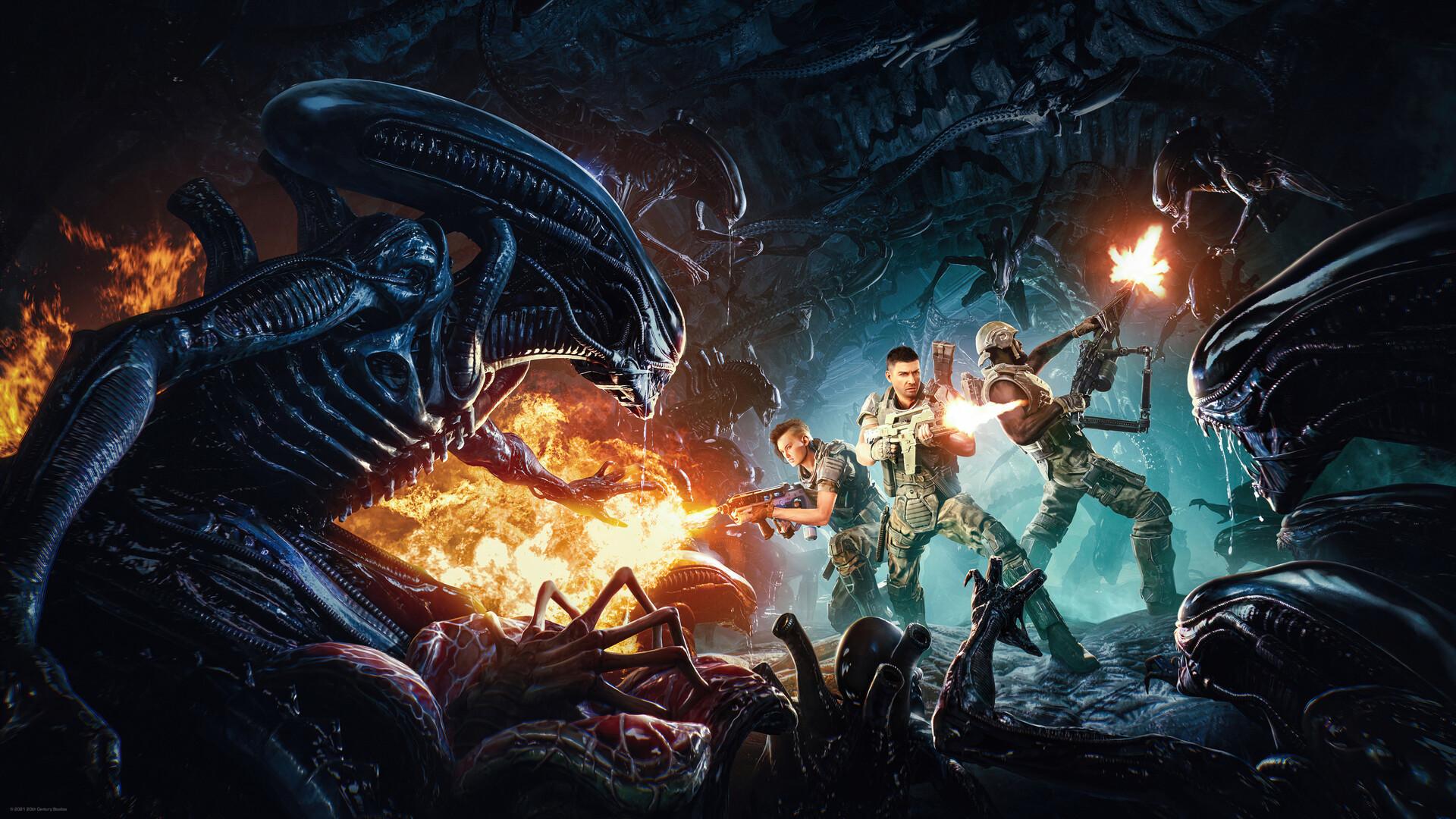 วิดีโอตัวอย่างเกมเพลย์แรกจากเกม Aliens: Fireteam โชว์การเล่นภารกิจ Co-op พร้อมต่อสู้กับเหล่าเอเลี่ยนสุดสยอง