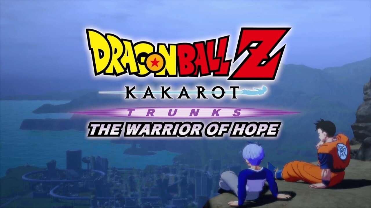 Trunks: The Warrior Of Hope ส่วนเสริมตัวสุดท้ายของเกม Dragon Ball Z: Kakarot กำหนดวางขายช่วงฤดูร้อนปีนี้