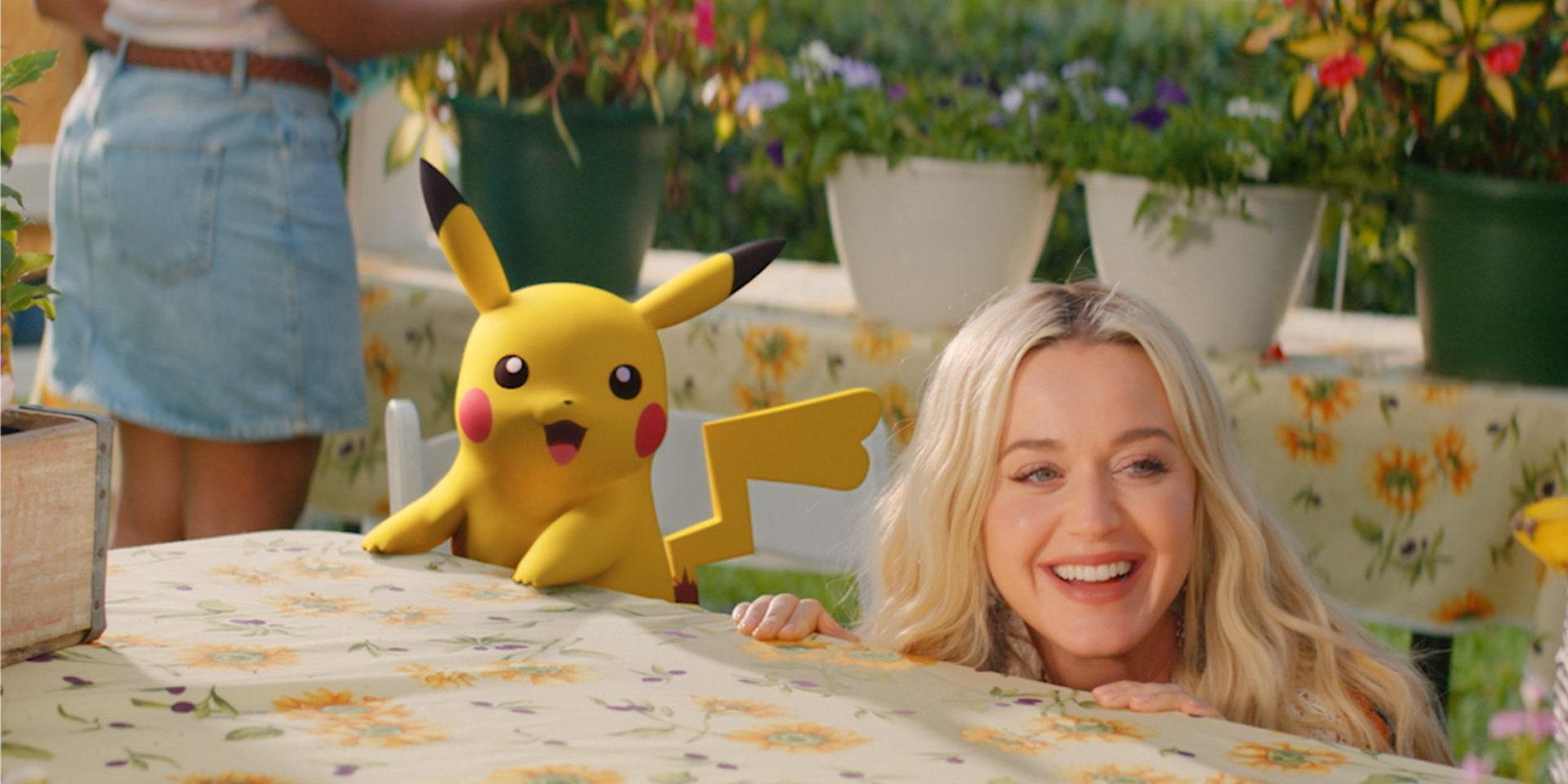 Katy Perry ปล่อย Music Video เพลงใหม่ 'Electric' ที่มีพิชูและพิคาชูจาก Pokémon ร่วมแสดงนำ
