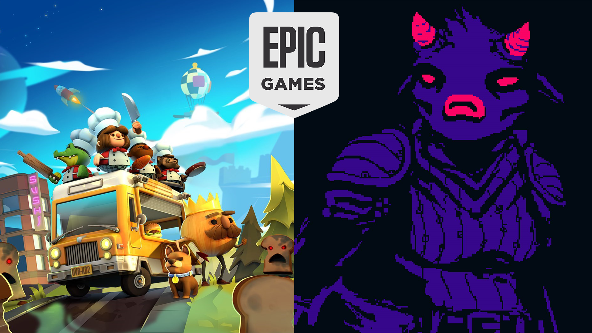 Epic Games Store จัดเต็ม!! แจกสองเกมฟรีทั้ง Overcooked! 2 และ  Hell is Other Demons แล้วตอนนี้
