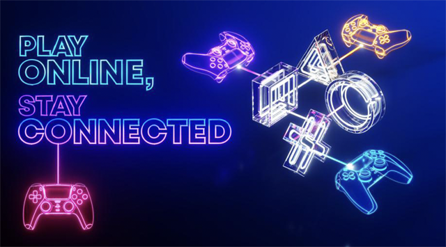 Sony PlayStation เชิญชวนผู้เล่นร่วมแคมเปญ  'Play Online, Stay Connected'  ร่วมเล่นเกมไปกับเพื่อนพร้อมลุ้นรับของรางวัลสุดพิเศษ