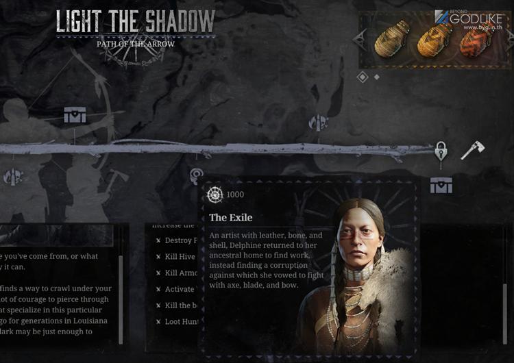 Hunt Showdown Light and Shadow อีเว้นเจ้าแห่งธนูและขวานบิน