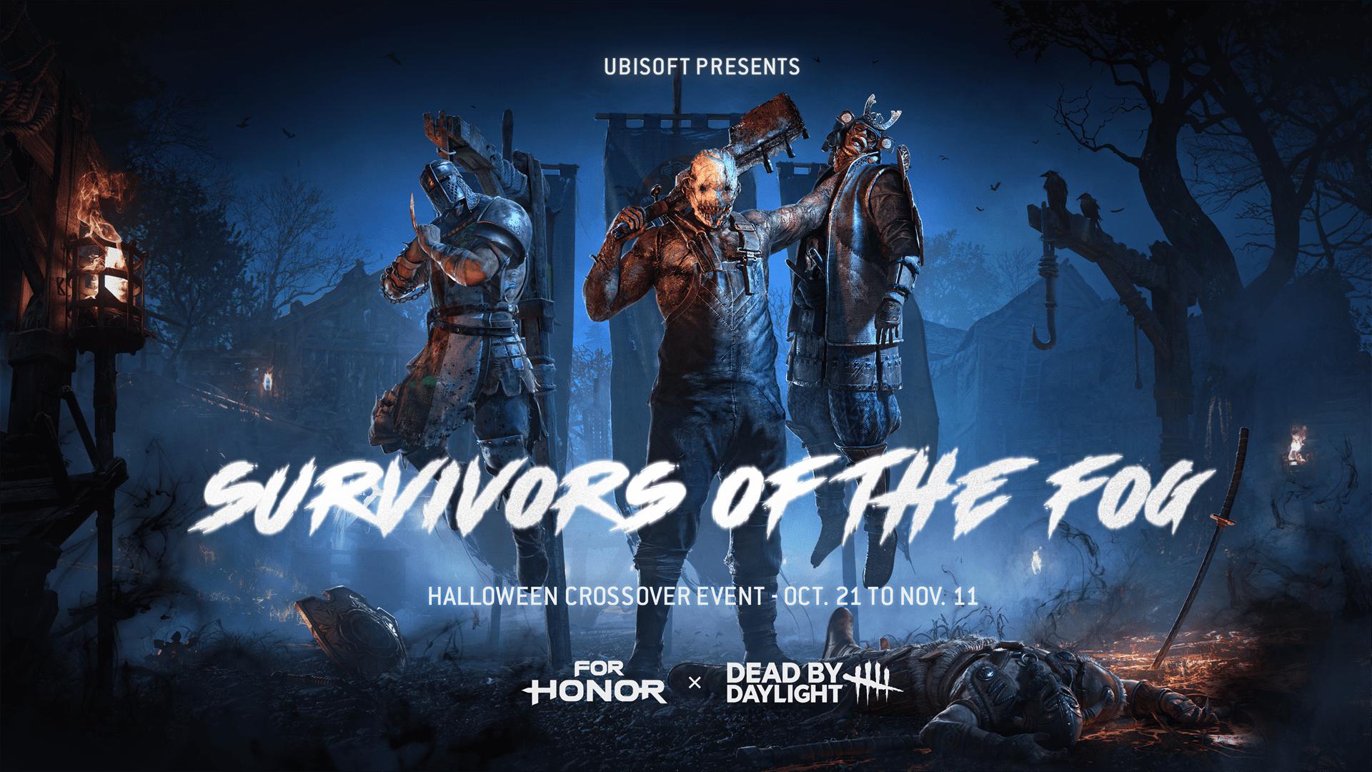 เหล่าฮีโรของ For Honor  ปะทะกับคิลเลอร์จาก Dead By Daylight  ในโหมดเกมฮัลโลวีนใหม่พร้อมให้เล่นแล้ววันนี้