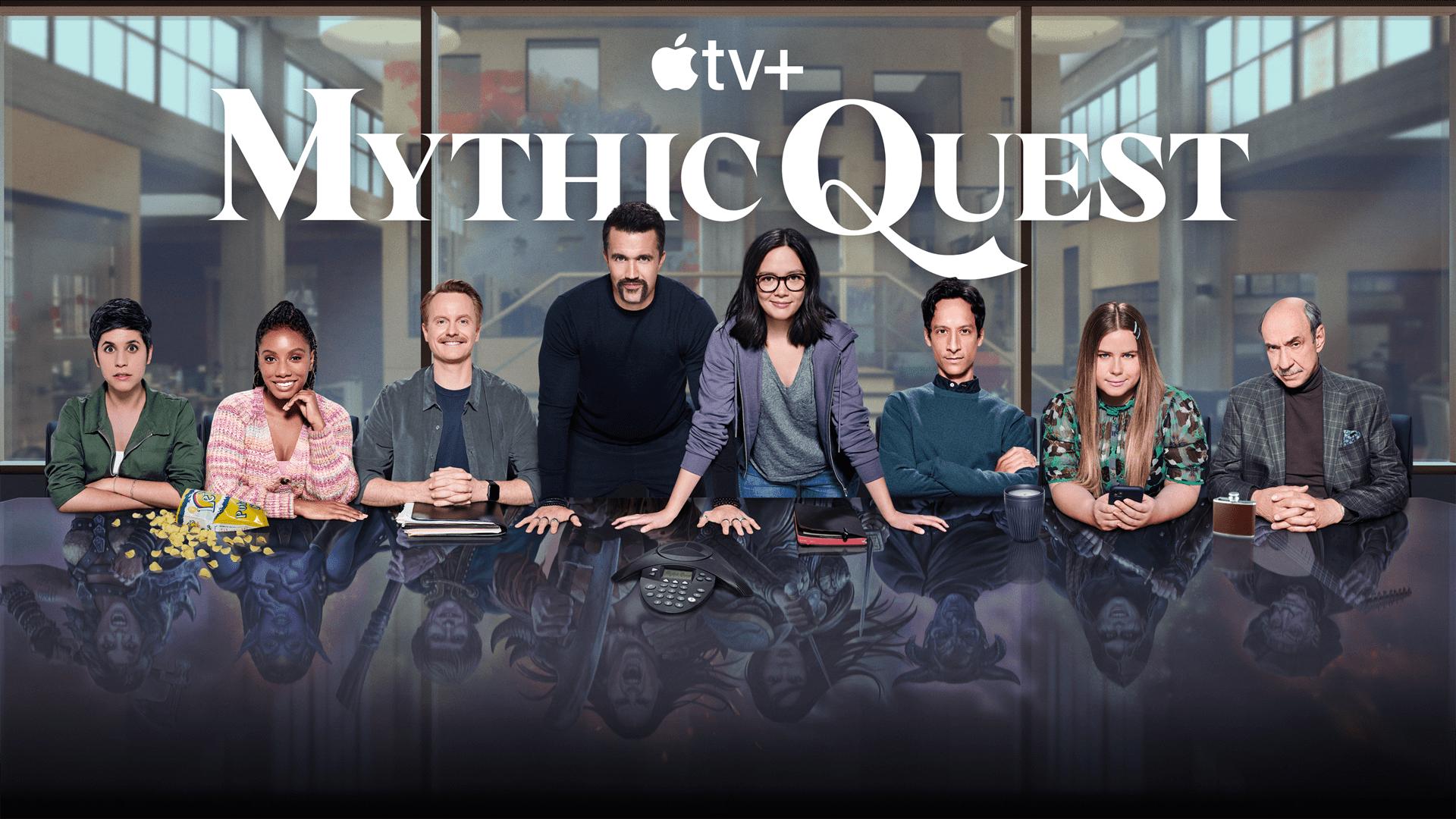 "Apple TV+ ประกาศสร้าง ""Mythic Quest ต่อ 2 ซีซันรวด - เตรียมพบซีรีส์ตลกแนวเบื้องหลังการทำงาน ได้ในซีซัน 3 และ 4"