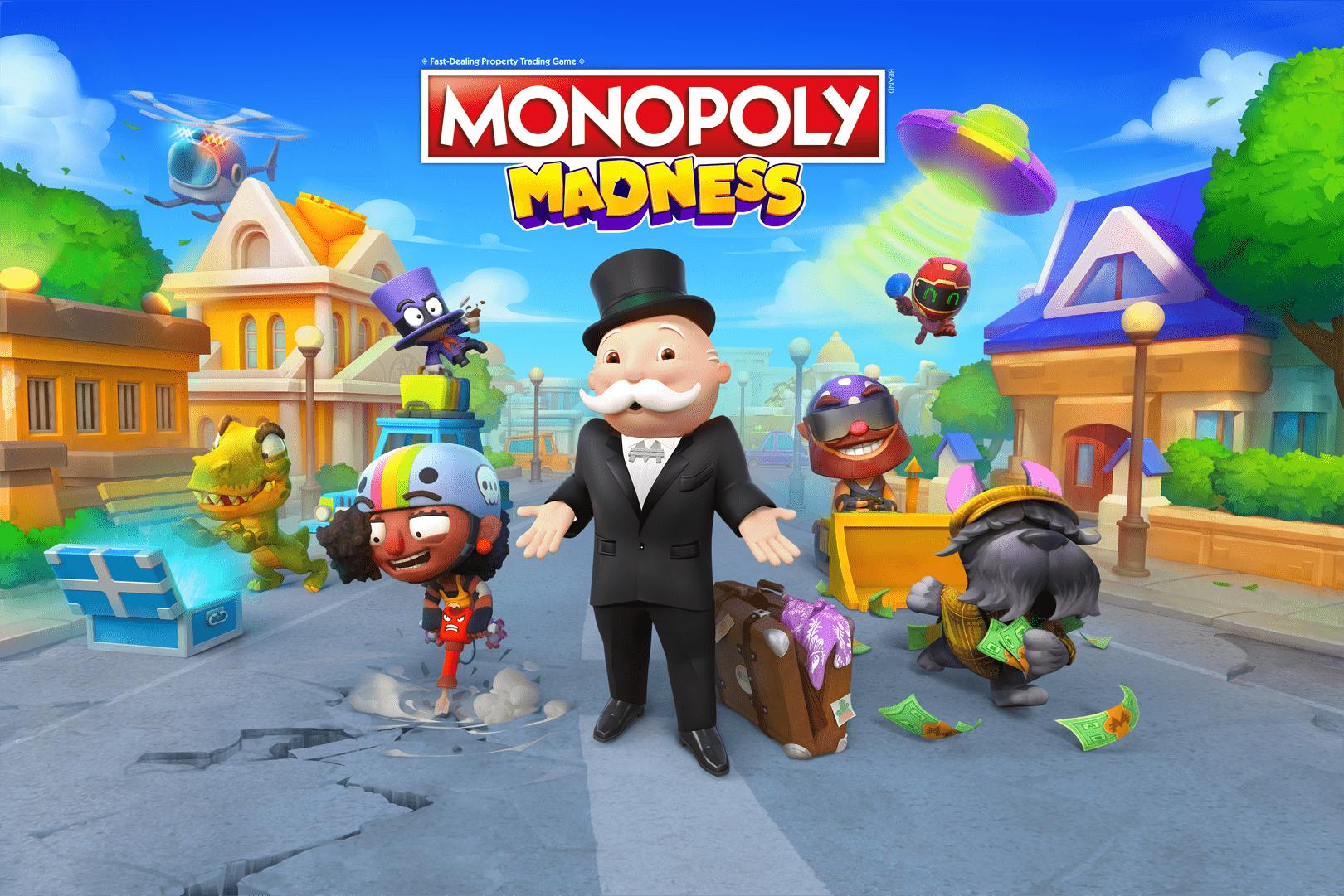 MONOPOLY Madness นำประสบการณ์การเล่นสุดคลาสสิกมาสู่รูปแบบเกมอารีน่า